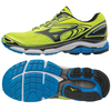 Mizuno Wave Inspire 13 Mens Running Shoes - Yellow/Black,  9 UK