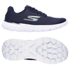 Skechers Go Run 400 Sole Ladies Running Shoes - Navy/White,  8 UK