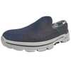 Skechers Go Walk 3 Mens Walking Shoes SS16 - Navy/Grey,  10 UK