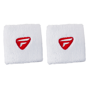Fitness  - Tecnifibre Wristbands - Pack of 2 - White