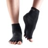 ToeSox Half Sock - Black,  L