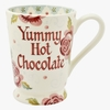 Crockery Personalised Rose & Bee Cocoa Mug