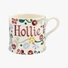 Crockery Personalised Spring Floral Small Mug