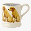 Crockery Seconds Yellow Labrador 1/2 Pint Mug 2014