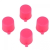 PS4 Pink Replacement Controller Action Buttons - PS4 Pink Buttons