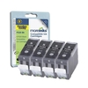4 Compatible Ink Cartridges to Replace Canon PGI5 Black Capacity 112 ml