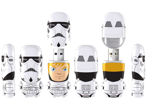 Electronic Gadgets  - 4 Gb. Stormtrooper Unmasked Mimobot.