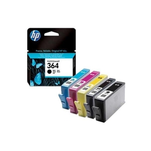 Electronic Gadgets  - 4 Hp Original Ink Cartridges To Replace Hp364  Cyan  Magenta  Yellow  Black Page Yield 1150 Pages