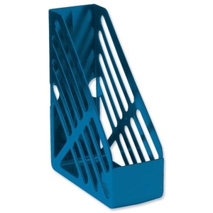 Computers  - 5 Star Office Magazine Rack File Foolscap - Blue