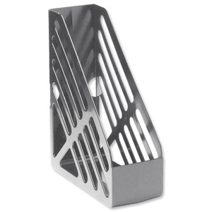 Computers  - 5 Star Office Magazine Rack File Foolscap - Grey