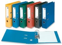 Office Supplies  - 5 Star Premier Lever Arch File Pvc Spine 70mm A4 Blue [pack 10]