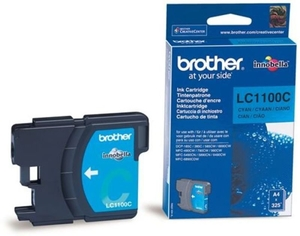 Printer Consumables  - *Brother LC1100C Cyan Ink Cartridge