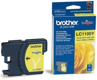 Printer Consumables  - *Brother LC1100Y Yellow Ink Cartridge