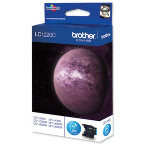 Printer Consumables  - *Brother LC1220C Cyan Ink Cartridge
