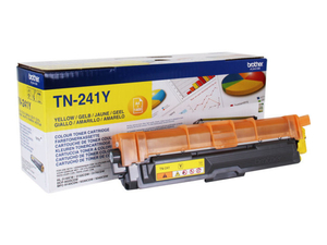 Computers  - Brother TN-241Y Yellow Laser Toner Cartridge - 1,400 Pages