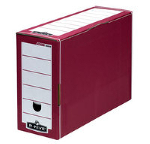 Computers  - Fellowes Bankers Box Premium Transfer File Red/White 00058-FF