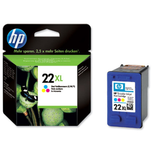 Printer Consumables  - *HP 22XL Colour Ink Cartridge - C9352CE
