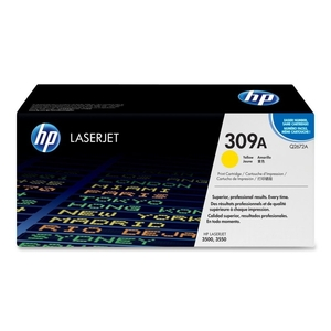 Printer Consumables  - *HP 309A Yellow Toner Cartridge 4000 Pages - Q2672A