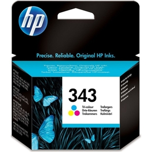 Printer Consumables  - *HP 343 Colour Ink Cartridge - C8766EE