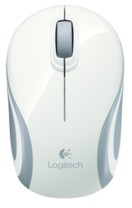 Computer Components  - Logitech Wireless Mini Mouse M187 - White