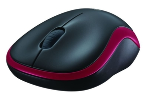 Computer Components  - Logitech Wireless Mouse M185 Red