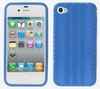 Silicone Case for iPhone 4G Blue