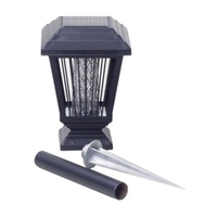 Garden  - V-Smart A201CP Solar Powered Cast Metal Mosquito/Insect Killer and Garden Lamp