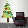 Christmas Tree Repositionable Wall Sticker