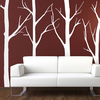 Office Supplies Tree Forest Wall Stickers