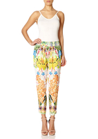 - TORIE - Tropical Print Harem style Trousers