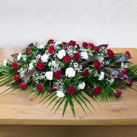 Flowers  - Rose Casket Spray Flowers