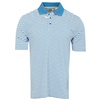 Golf Cutter & Buck Manifold Stripe Polo - Crisp