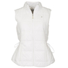 Green Lamb Janet Quilted Gilet - White
