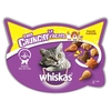 48 x 100g Whiskas Pouches + 2 x 66g Whiskas Trio Crunchy Treats Free!* - 7+ Senior Poultry Selection in Jelly