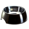 Hunter Melamine Dog Bowl - Black - 0.35 litre