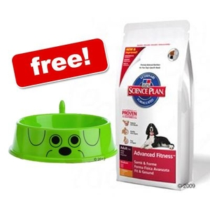 Pets  - Large Bags Hill´s Science Plan + zooplus Dog Bowl Free! - Adult Large Breed Ligh