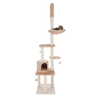 Natural Home V Cat Tree - Beige