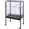 Parrot Cage Marrakesh - silver / black