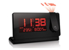 Electronic Gadgets Slim Projection Clock with Indoor & Outdoor Temperature
