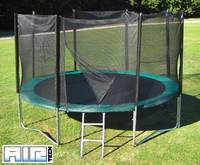 Airtech Silver 14ft trampoline package