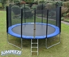 Trampolines Jumpeeze Blue 14ft trampoline package