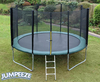 Trampolines Jumpeeze Green 14ft trampoline package