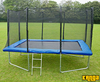 Trampolines Kanga Blue 8x12ft trampoline package