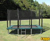 Trampolines Kanga Green 7x10ft trampoline package