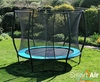 Trampolines SmartAir Turquoise 10ft trampoline package