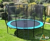 Trampolines SmartAir Turquoise 12ft trampoline package