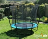 Trampolines SmartAir Turquoise 8ft trampoline package