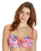 2 Pack Balcony Wired Print/Cream Bras