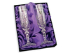 Personalised Gifts Crystal Pair of Champagne Flutes