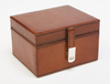 Personalised Gifts Personalised Leather Stud Box